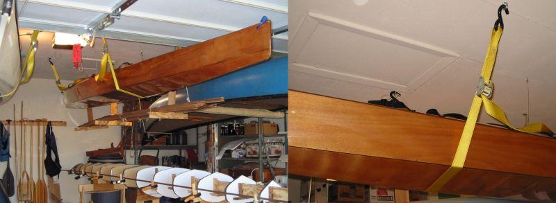 Winter Canoe Storage