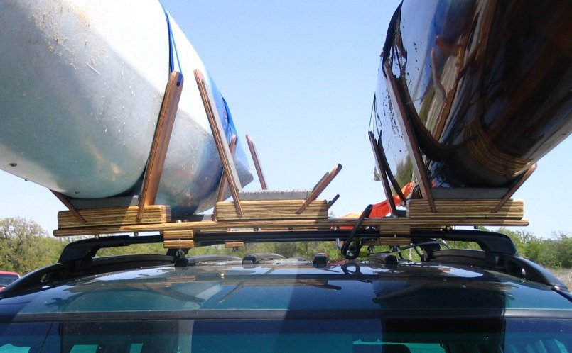 Johns roof rack plywood epoxy and stainless steel wingnuts solutioingenieria Images
