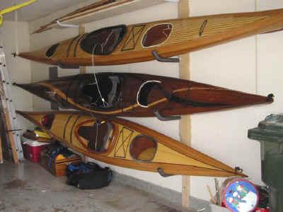 Storing Kayaks